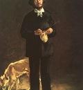 Manet Portrait of Gilbert Marcellin Desboutin, 1875, oil on