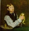 Manet Portratt av Leon Leenhoff Paronskalaren , 1868, 85x71