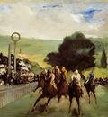 Manet Races at Longchamp, ca 1867, 43 9x84 5 cm, The Art Ins