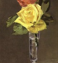 Manet Roses in a Champagne Glass, 1882, Burrell Collection,