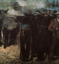 Manet Study for Execution of the Emperor Maximilian, 1867,