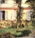 Manet The House at Rueil, 1882, National Gallery of Victoria