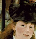 Manet The railway, 1872 73, 93 3x111 5 cm, Detalj 1 Nation