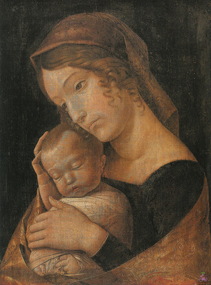 mantegna 038 virgin and child 1 1465