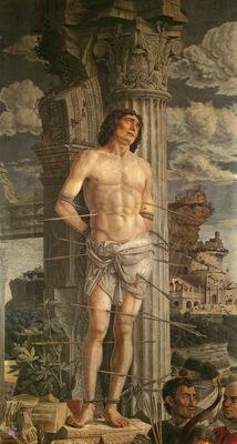 mantegna 049 st sebastian 1480