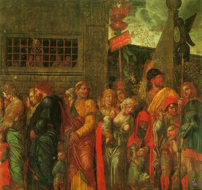 mantegna 057 triumphs of caeser scene 7