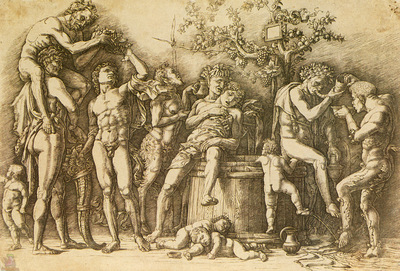 mantegna 060 bacchanalia with a wine vat
