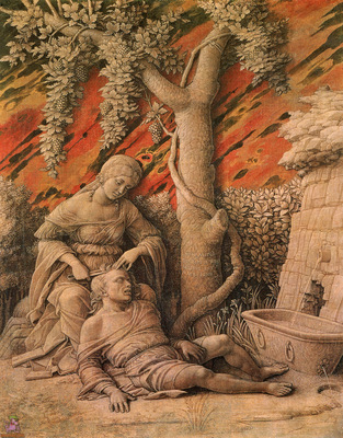 mantegna 071 samson and delilah 1495