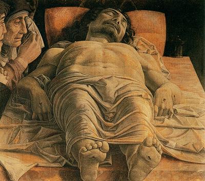 Mantegna Andrea The dead Christ