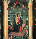 Mantegna 024 San Zeno Altarpiece 1457 1460 detail