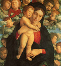 mantegna 050 virgin with child and cherubim 1480