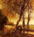 Maris Willem Cattle By A Stream