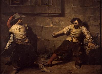 Marques Francisco Domingo Un lance en el siglo XVII