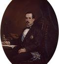 Marques Francisco Domingo Retrato del Ministro de Fomento Manuel Ruiz Zorrilla