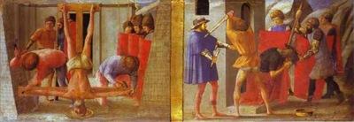 La crocifissione di S Pietro