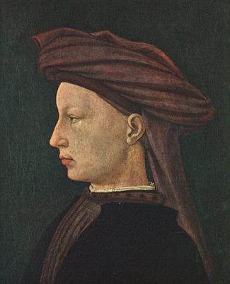 masaccio ritratto di giovane donna