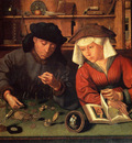 Massys Quentin The Money Lender And His Wife