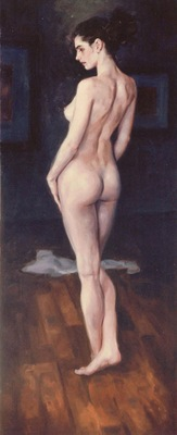 nude in studio