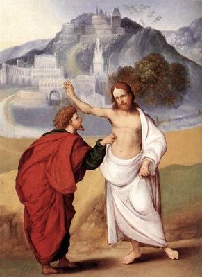 MAZZOLINO Ludovico The Incredulity Of St Thomas
