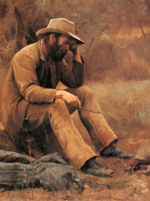 McCubbin Down on his Luck detail