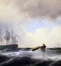 Meijer Louis Les fregates Prins van Oranje Sun