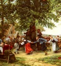 Meissonier Jean Charles The Village Festival