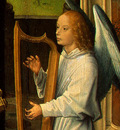 MEMLING MADONNA AND CHILD WITH ANGELS,DETALJ 9, NGW