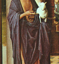 MEMLING THE DONNE TRIPTYCH, LEFT PANEL, NG LONDON