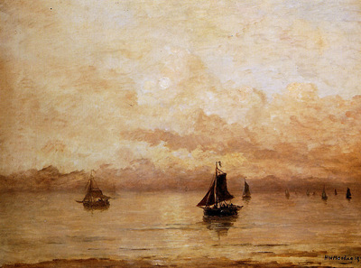 Mesdag Hendrik Willem Morning Sun