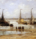 Mesdag Hendrik Willem Arrival Of The Fleet Sun