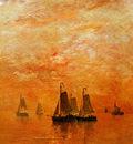 Mesdag Hendrik Willem Evening Colours Sun