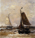 Mesdag Hendrik Willem Returning Sun
