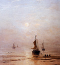 Mesdag Hendrik Willem Summer Evening Scheveningen Sun