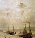 Mesdag Hendrik Willem Winding The Anchor Sun