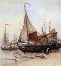 Mesdag Hendrik Willem Work At The Beach Sun