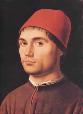 ANTHONELLO DA MESSINA PORTRAIT OF A MAN,C 1475, NG LONDON
