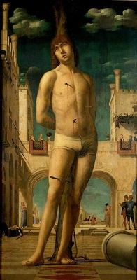 Antonello da Messina, St Sebastian, Dresden