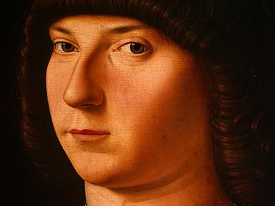 antonello da messina portrait of a young man, probably 147