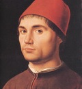 ANTHONELLO DA MESSINA PORTRAIT OF A MAN,C 1475, NG LONDON