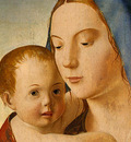 antonello da messina madonna and child, c  1475, 58 9x43 7