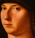 antonello da messina portrait of a young man, probably 147