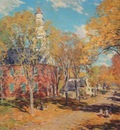 metcalf october morning, deerfield