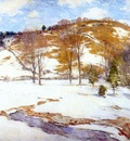 metcalf snow in the foothills c1920