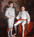 Metcalfe Gerald F  Portrait of Molson Brothers Harold and Eric sons of J  Elsdale