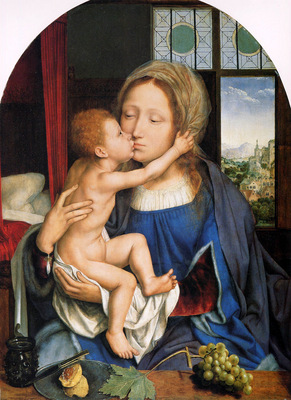 Metsys Q Virgin with child Sun