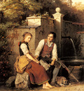 Meyer Von Bremen Johann Georg At The Well