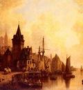 Meyerheim Hermann A Busy Port