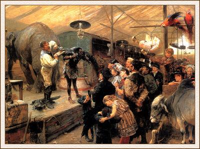 bs ahp Paul Friederich Meyerheim The Animal Booth