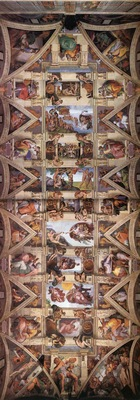 Ceiling of the Sistine Chapel EUR