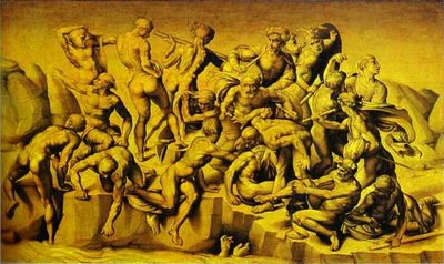 Michelangelo Aristotile da Sangallo; The Battle of Cascina
